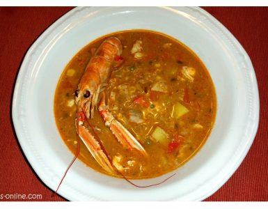 CHUPE – Peruanischer Fischeintopf