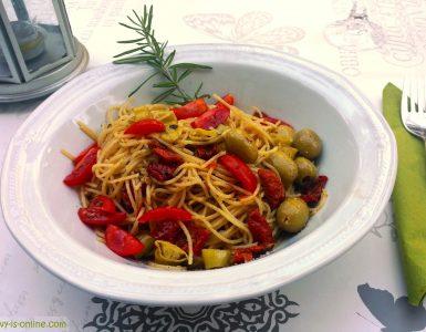 Spaghetti mediterran