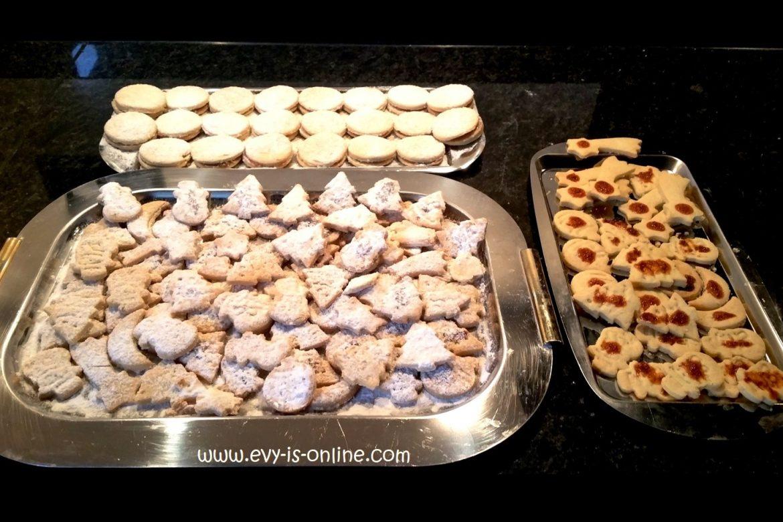 Alfajores y galletitas de Navidad