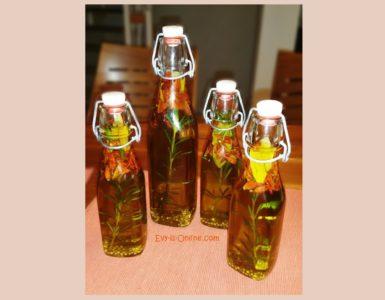 Pikantes Olivenöl