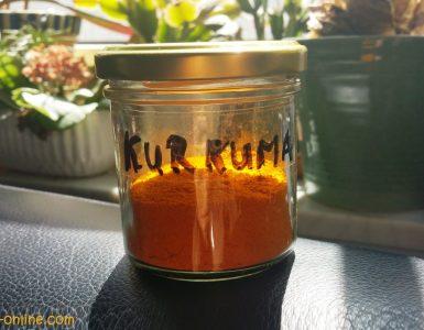 Kurkuma-Pulver selbst herstellen