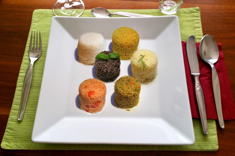 Sechs verschiedene Arten, Reis zuzubereiten
