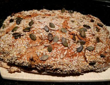 Pan integral de espelta o de trigo